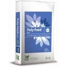 Водорастворимые Удобрения Poly-Feed 12-5-40+2Mg+Me